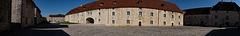 BESANCON: La Citadelle: La cour des Cadets.02
