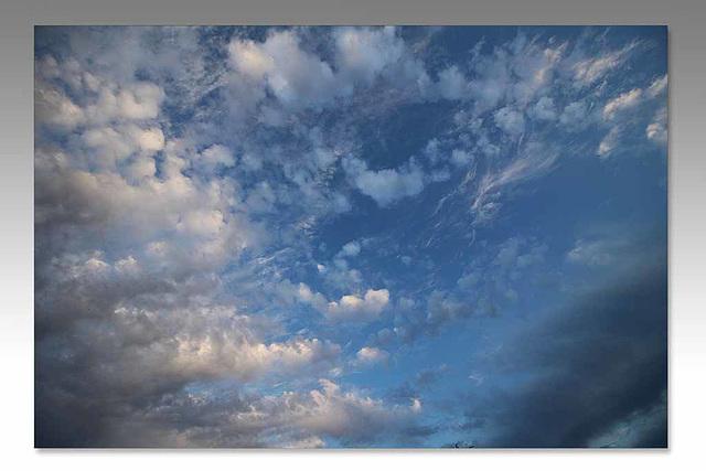 Evening clouds - East Blatchington - 10.7.2015