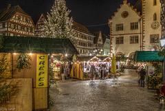 Christmas Market - Weihnachtsmarkt - Mosbach (240°)