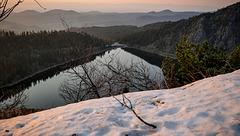 interlude Vosgien : petit jour sur le lac Blanc