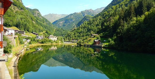 Valsesia - Rimasco , piccolo lago