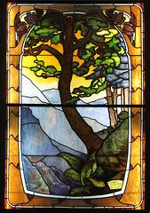 Paysage des Vosges (Art Nouveau)