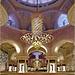 Abu Dhabi : la moskea Zayed e i tre giganteschi lampadari Svarovski in oro 24 carati e 10 mt. di diametro - peso 9 tonnellate