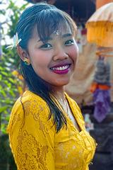 Portrait of a Bali girl