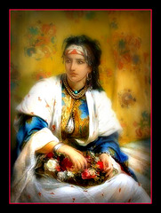 L'algérienne vendeuse des fleurs.