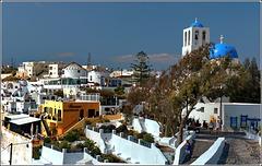 Santorini : Imerovigli -  (985)