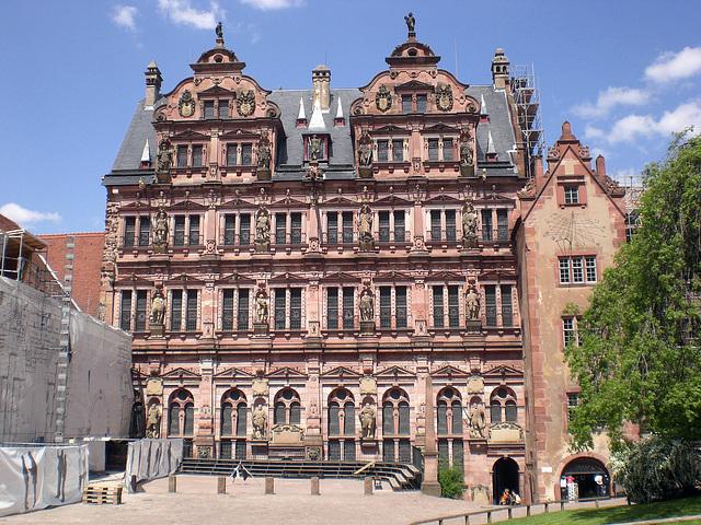 Fassade von Schloss Heidelberg