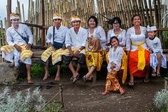 Balinese family in Edelweis Garden
