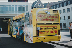 Jersey bus 22 (J 74393) at St. Helier - 4 Sep 1999
