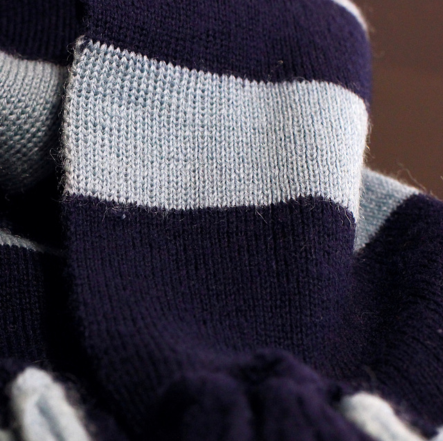 285/365 old school scarf