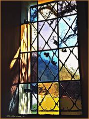 Fenster der Antonios-Kapelle ... Ostern 2016