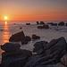 Sunset à Ouessant
