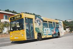 Jersey bus 22 (J 74393) at St. Brelade's Bay - 4 Sep 1999