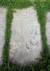 Memorial to John Wilson, St Mary's Church, Illingworth, Suffolk