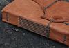 Muir, sewn with gray thread