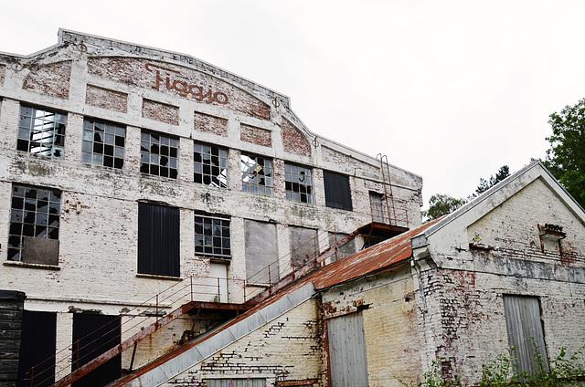 Figgjo abandoned swimsuit factory.