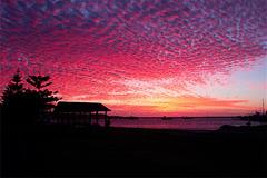 Abendstimmung in Port Denison Marina