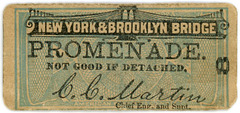 Brooklyn Bridge Promenade Ticket