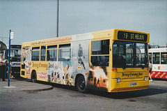 Jersey bus 22 (J 74393) at St. Helier - 4 Sep 1999 22