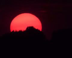 Die Sonne geht unter