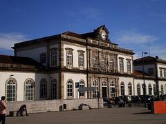 Campanhã Railway Station.