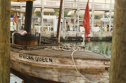 The 'African Queen' at Key Largo