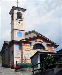 Doppio orologio a Balboutet - il paese delle meridiane - (754)