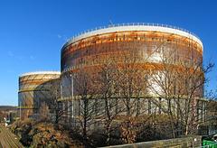 Meadowhall gasholders