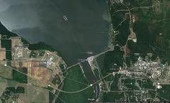 Chattahoochee Jim Woodruff Dam and Lock (Google)
