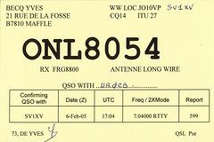 QSL ONL8054