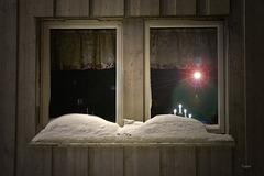 Nordisches Adventsfenster