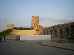Towers and walls of Rabati citadel.