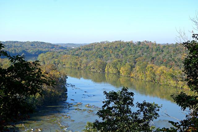 Overlooking the Shenandoah