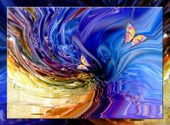 Envole moi Vers ce beau papillon Qui fait battre mon coeur à l'unisson.