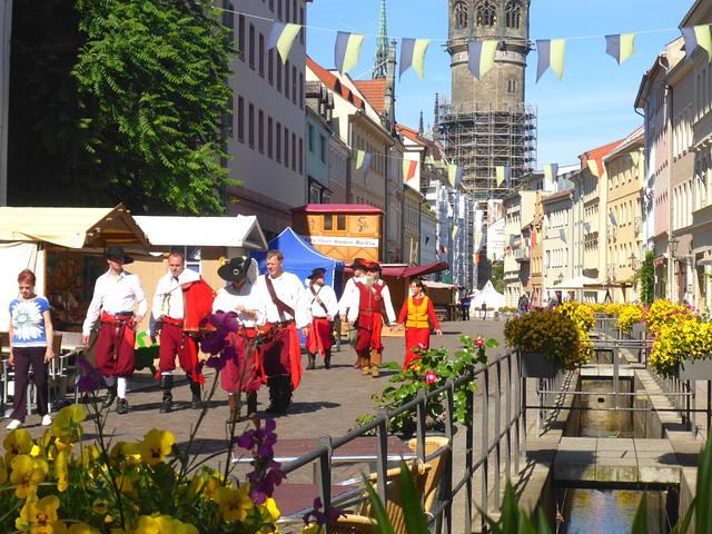 Lutherstadt Wittenberg - Stadtfest 2015