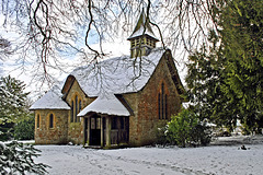 St George's in the snow of 2013