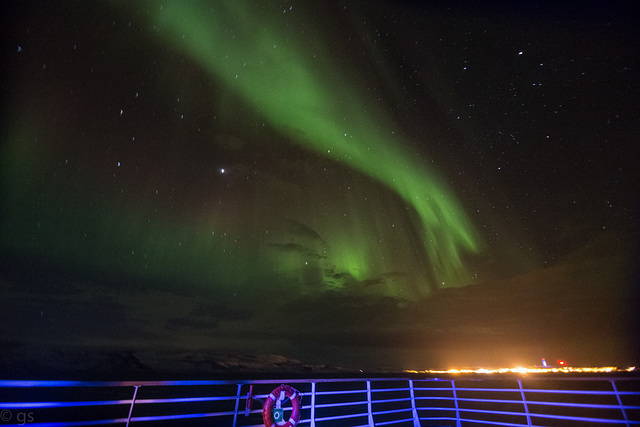 Aurora off Berlevåg