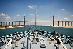 Al Salam Bridge, Suez Canal