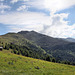 Blick hinauf zur Sillianerhütte