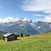 Blick vom Karnischen Kamm auf die Dolomiten