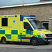 South Western Ambulance Service Sprinter in Tewkesbury - 15 September 2017
