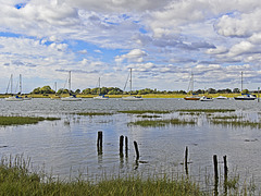 A View Across Bosham Harbour with the Incoming Tide