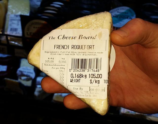pricey Roquefort