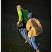 Running in the shining light - Correre nella luce radente