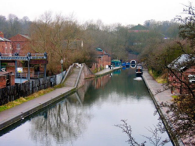 Dudley Tunnel on the Dudley No1 Canal