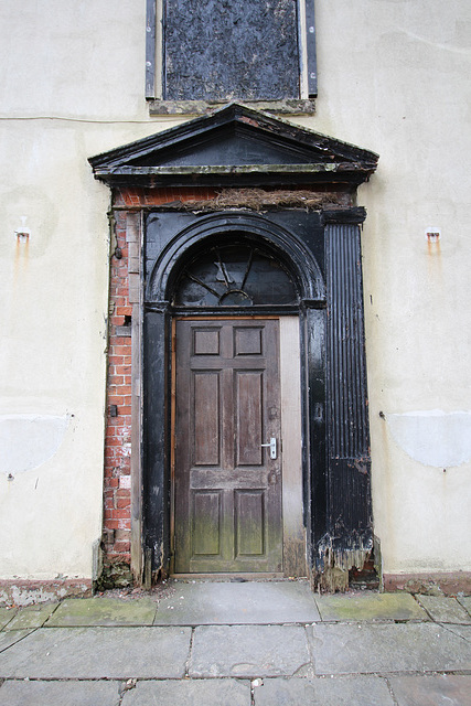 Derelict Georgian Vicarage, Thorne, South Yorkshire