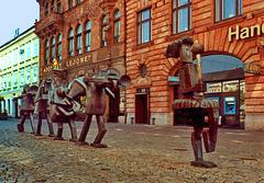 """Malmö, """"Optimistorkestern"""" (Optimisten-Orchester)"""