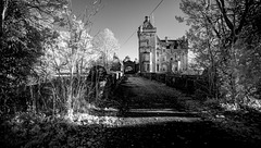 Overtoun Bridge Infrared BW - By popular request!