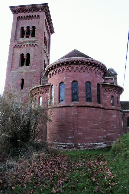 hoarwithy church, herefs.