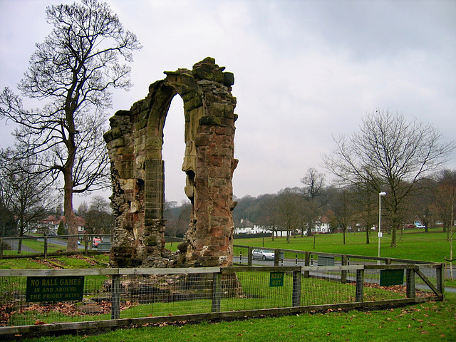 Dudley Priory Ruins, Grade I Listed Building